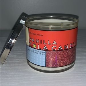 Vanilla Cola Candy candle Bath and Body Works